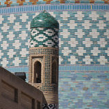 Gate at khiva Royalty Free Stock Image