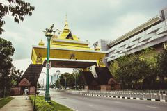 Gate Khon Kaen. Royalty Free Stock Photo