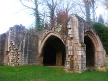 Gate la casa all'abbazia del triotto, Maltby, il Yorkshire Fotografie Stock
