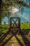 Gate Landscape Stock Photo