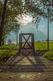 Gate Landscape Royalty Free Stock Photography