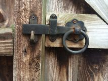Gate latch Stock Photo