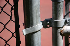 Gate latch Stock Images
