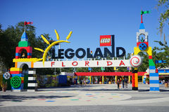 The gate of lego land florida Stock Photography
