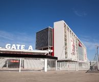 SF 49ers new stadium Gate A Royalty Free Stock Images