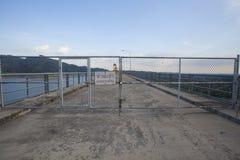 Gate lock Royalty Free Stock Image