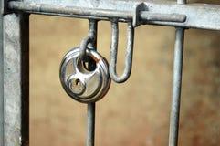 gate lock metal Στοκ Εικόνα