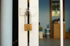 Gate locks Home. Security & Safety Stock Photography