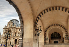 Gate in the Louvre. Stock Images