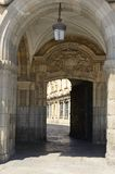 Gate at Main Plaza Royalty Free Stock Image