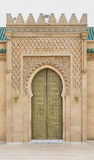 The gate of Mausoleum of Mohammed V in Rabat Stock Photography
