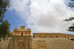 The Gate of in Mdina Royalty Free Stock Image