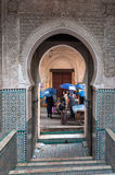 Gate in the medina of Fez Stock Photography