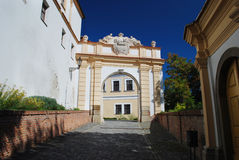 Gate - Mikulov castle Royalty Free Stock Image