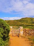 Gate on Minorca Royalty Free Stock Image