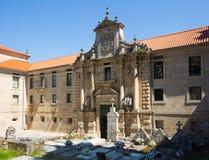 Gate of monastery of San Esteban Stock Photography