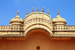 Gate Of Nahargarh Fort. Top part of Nahargarh Fort entrance gate royalty free stock image
