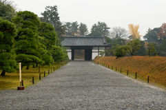 Gate in Nijo Castle Royalty Free Stock Image