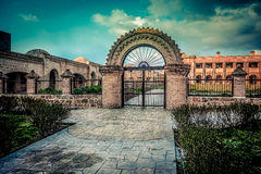 Gate of Old Castle Royalty Free Stock Image