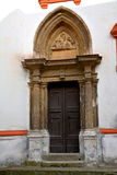 Gate of an old church in  Sopron (Ödenburg), Hungary. When the area that is today Western Hungary was a province of the Roman Empire, a city called Stock Photo