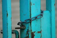 A gate Royalty Free Stock Image