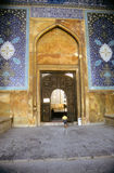 Gate of old mosque Royalty Free Stock Photo
