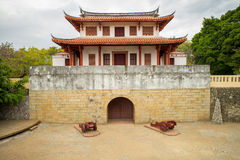 Gate of old tainan city Royalty Free Stock Image
