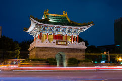 Gate of the old Taipei city Royalty Free Stock Photos