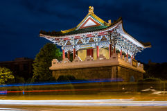 Gate of the old Taipei city Stock Image