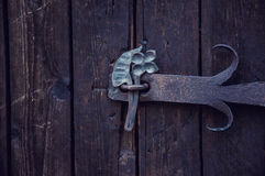 Gate, old Ukrainian house in the summer Royalty Free Stock Photo