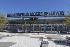 Gate One Entrance at Indianapolis Motor Speedway. IMS ran the Indy 500 without fans due to COVID concerns