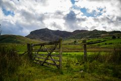 A Gate into the Open World Royalty Free Stock Images