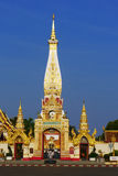 The gate of Pagoda Buddhist Stock Images