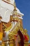 The gate of Pagoda Buddhist Royalty Free Stock Photo