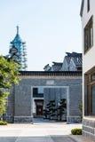 gate and pagoda Stock Photos