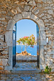 Gate in Palamidi fortress. Nafplio, Greece Royalty Free Stock Photography