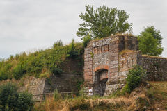 Gate of Palmanova fortifications Royalty Free Stock Image