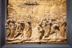 The Gate of Paradise - Baptistery, Florence Stock Images