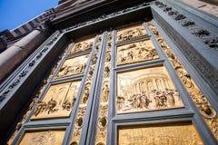 The Gate of Paradise - Baptistery, Florence Stock Photo