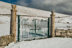 Gate for the paradise Royalty Free Stock Photos