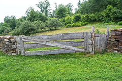 The  gate, Royalty Free Stock Photos