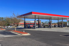 Gate Petro Service Station Royalty Free Stock Photo