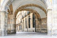 Gate at Plaza Mayor, Salamanca, Spain Stock Image