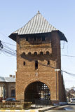 Gate poartal landmark of Targoviste Royalty Free Stock Photography