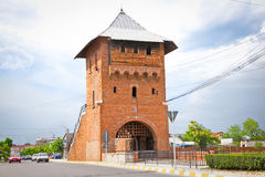 Gate poartal landmark of Targoviste , Romania. Stock Photography