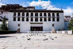 Gate of The Potala Palace Stock Photo