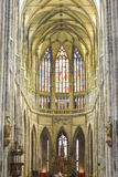 Sint Vitus Cathedral Royalty Free Stock Photography