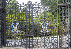 Gate on Public Gardens Royalty Free Stock Photo