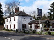 The Gate Public House, Rickmansworth Road, Chorleywood royalty free stock images