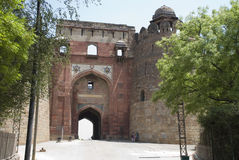 Gate of Purana Qila Stock Photos